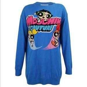 Moschino Power Puff Girls Sweater Dress